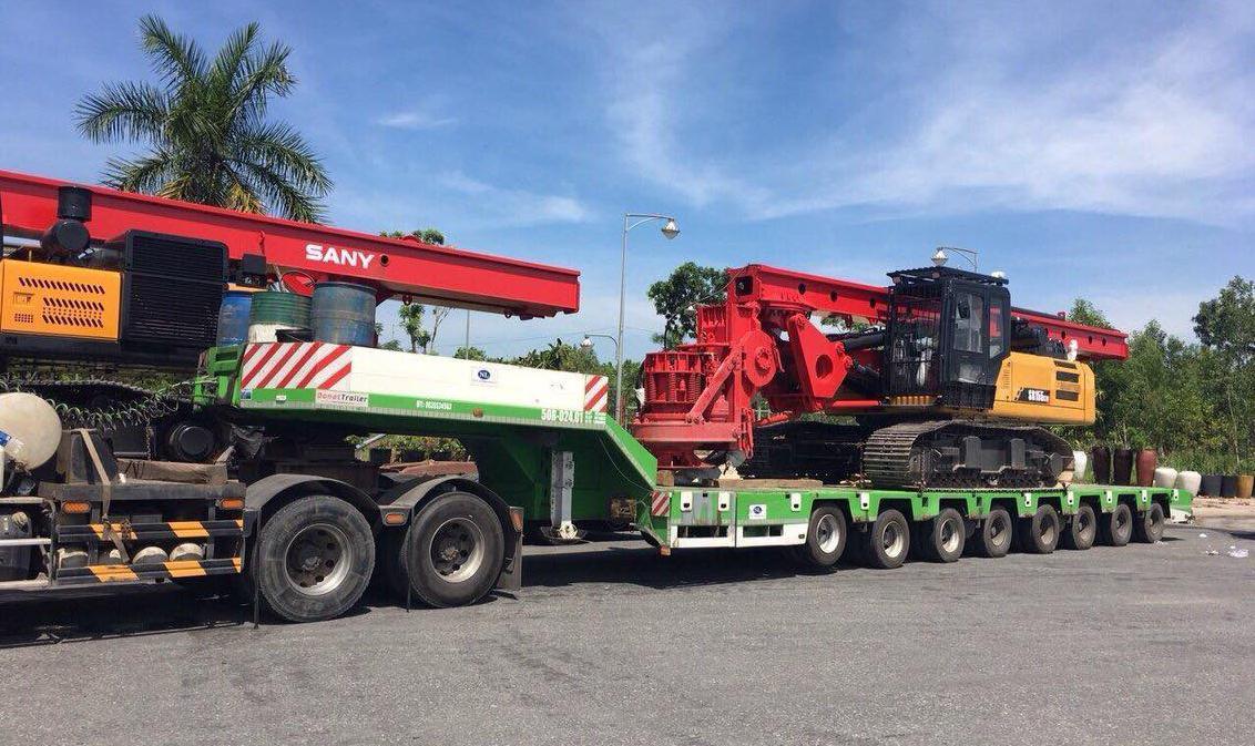 Nhu cầu về vận chuyển máy móc thiết bị