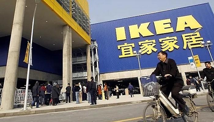 Nhập hàng nội thất IKEA từ Trung Quốc